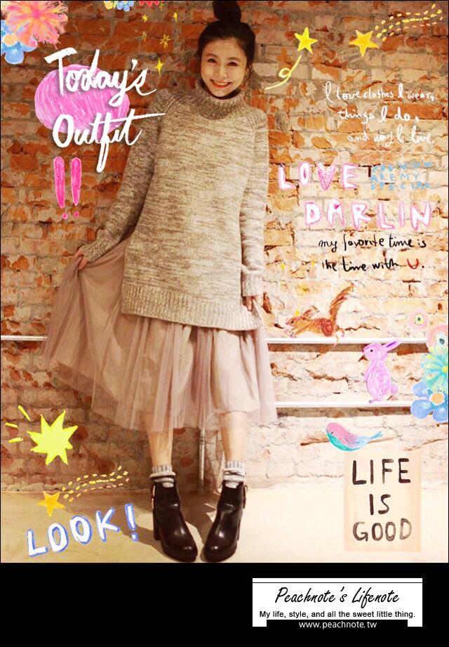 【穿搭】氣質UP,喚醒女孩氣的夢幻紗裙。