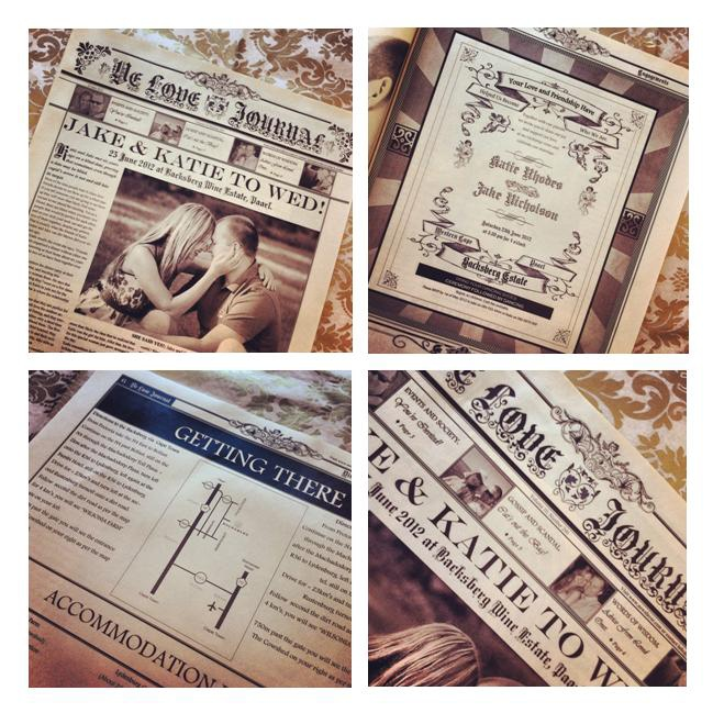 Vintage-Wedding-Invites-Newspaper-Style-Wedding-Invitations